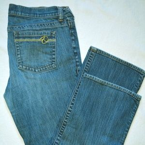 Mint NEW YORK & COMPANY JEANS. WOMEN. LE Size 12